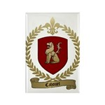 CAHOUET Family Crest Rectangle Magnet (10 pack)