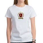 CAHOUET Family Crest Women's T-Shirt