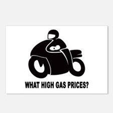 WHAT HIGH GAS PRICES? Postcards (Package of 8)