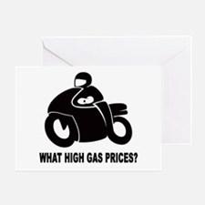WHAT HIGH GAS PRICES? Greeting Card