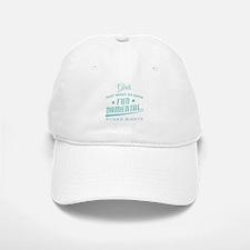 Women's March Feminist Quote Girls Just wa Baseball Baseball Cap