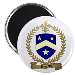 """BUGEAUD Family Crest 2.25"""" Magnet (10 pack)"""
