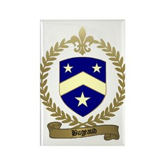 BUGEAUD Family Crest Rectangle Magnet (10 pack)