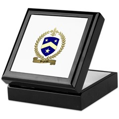 BUGEAUD Family Crest Keepsake Box