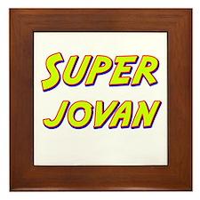 Super jovan Framed Tile
