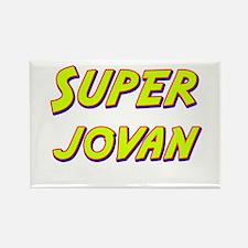 Super jovan Rectangle Magnet