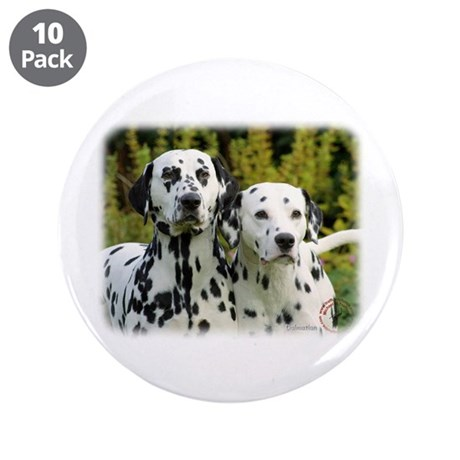 """Dalmatian 9T004D-448 3.5"""" Button (10 pack)"""
