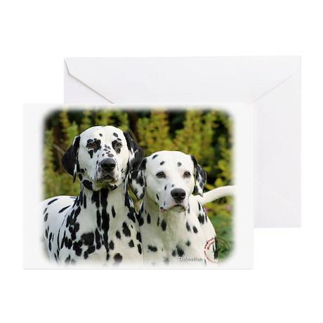 Dalmatian 9T004D-448 Greeting Cards (Pk of 20)