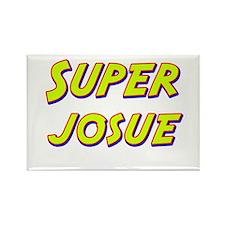 Super josue Rectangle Magnet