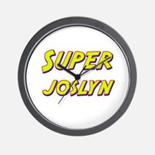 Super joslyn Wall Clock