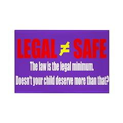 Legal does not equal safe
