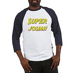 Super josiah Baseball Jersey