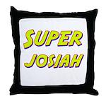 Super josiah Throw Pillow