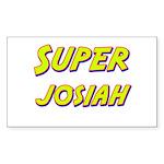 Super josiah Rectangle Sticker