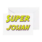 Super josiah Greeting Card