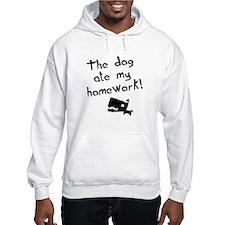 The Dog Ate My Homework Hoodie