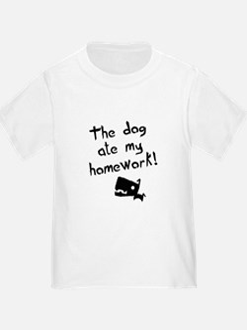 The Dog Ate My Homework T
