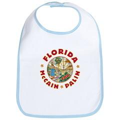 Florida For McCain / Palin Bib