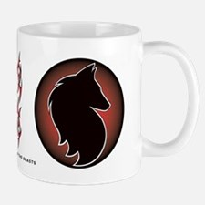 Red Sun Belgian Mug