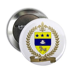 BRUNET Family Crest Button