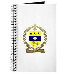 BRUNET Family Crest Journal