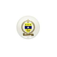BRUNET Family Crest Mini Button (100 pack)