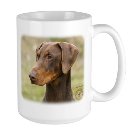 Dobermann 9K060D-19 Large Mug