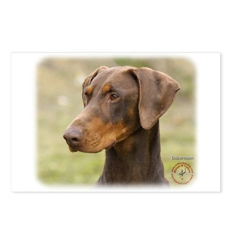 Dobermann 9K060D-19 Postcards (Package of 8)