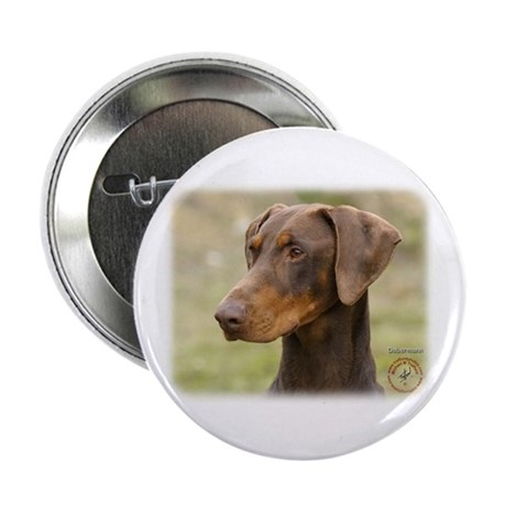 "Dobermann 9K060D-19 2.25"" Button"