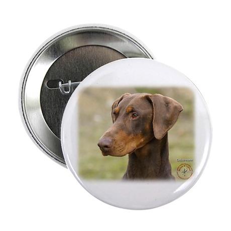 """Dobermann 9K060D-19 2.25"""" Button (10 pack)"""