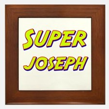 Super joseph Framed Tile