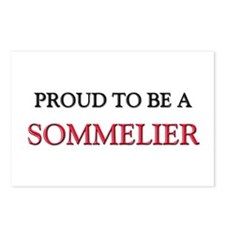 Proud to be a Sommelier Postcards (Package of 8)