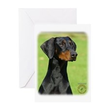 Dobermann 9R020D-054 Greeting Card