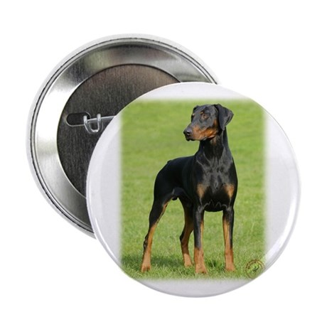 "Dobermann 9P99D-60 2.25"" Button"