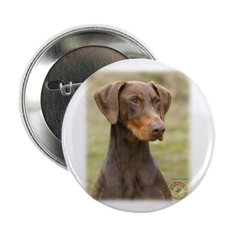 "Dobermann 9K060D-19 2.25"" Button (10 pack)"