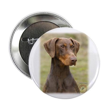 """Dobermann 9K060D-19 2.25"""" Button (100 pack)"""