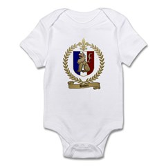 DUHON Family Crest Infant Creeper