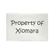 Cute Xiomara Rectangle Magnet (100 pack)