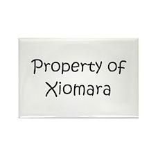 Unique Xiomara Rectangle Magnet