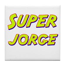 Super jorge Tile Coaster