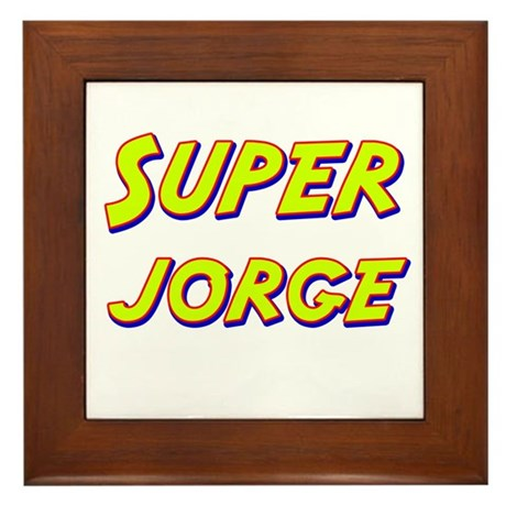 Super jorge Framed Tile