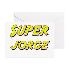 Super jorge Greeting Cards (Pk of 20)