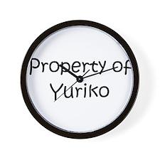 Funny Yuriko Wall Clock