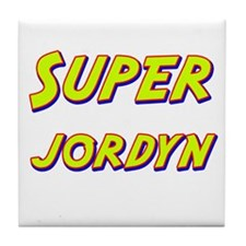 Super jordyn Tile Coaster