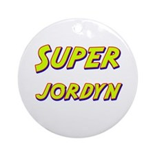 Super jordyn Ornament (Round)