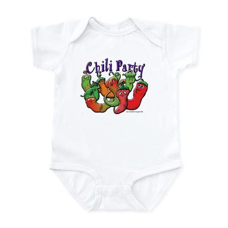 Chili Party Infant Bodysuit