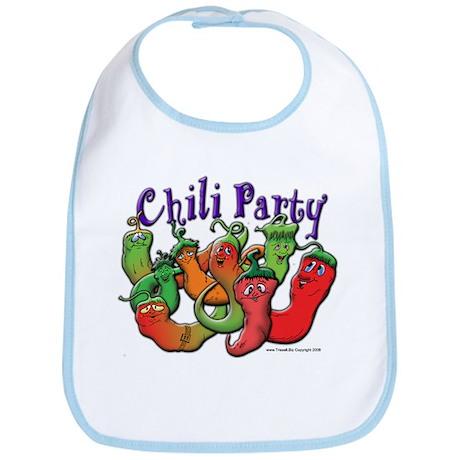 Chili Party Bib