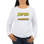 Super jonathon Women's Long Sleeve T-Shirt