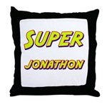 Super jonathon Throw Pillow
