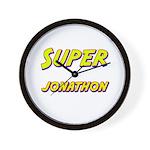 Super jonathon Wall Clock
